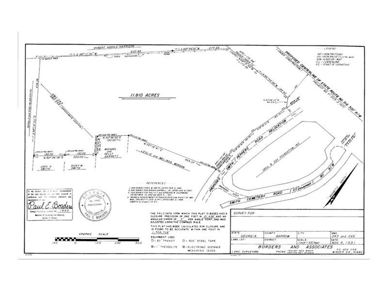 HWY 316 / Smith Cemetery Road, Winder, GA 30680