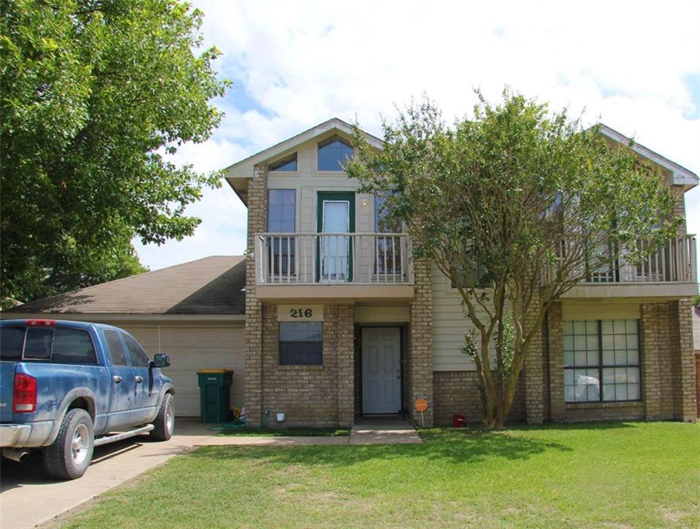 216 Mesa Wood Drive, Glenn Heights, TX 75154