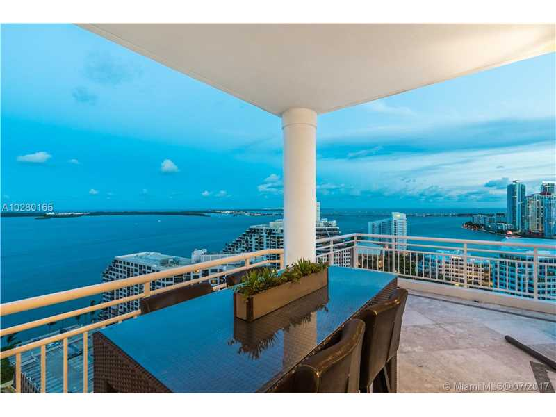 Dramatic & rarely available Penthouse w/the most amazing S.E. + N.E. views of Biscayne Bay, Downtown, & Skyline. This unique 2-story Penthouse features 12ft high ceilings on the 1st floor & 18ft ceilings on the 2nd floor w/ an entire wall of windows to enjoy the views. Wonderful layout for entertaining w/grand living rm, dining, kitchen & 2BD/2.5BA on 1st floor w/ 2 balconies. 2 spacious master suites upstairs w/ 2 baths w/giant closets & a second living rm upstairs. 6 X 8 ft AC storage & 2 tandem parking