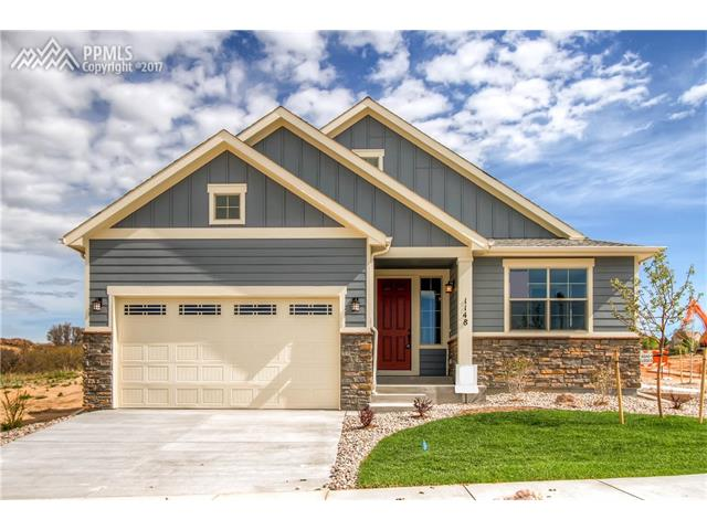 1148 Seabiscuit Drive, Colorado Springs, CO 80921