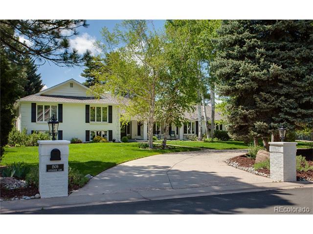 1509 Cottonwood Lane, Greenwood Village, CO 80121