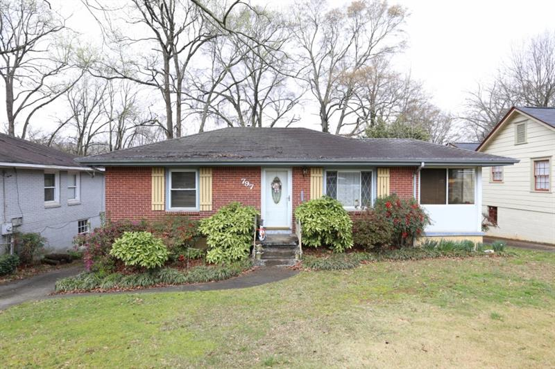 Great potential near the resurgent East Atlanta Village!~Proximity to the Eastside Beltline, Parks, Shopping, Schools and more!~Perfect Investment opportunity for Investors to Handy Husbands!~Large lot can easily accommodate expansion buildout or renovation of choice~This one won't last long.