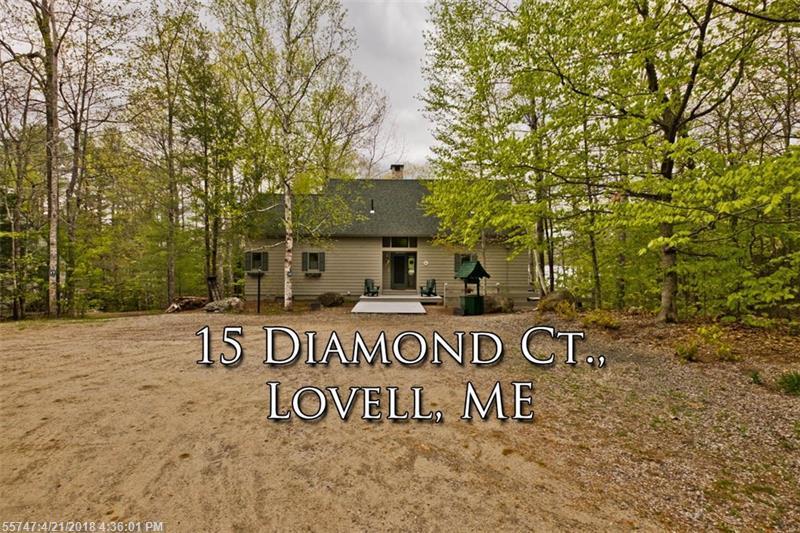 15 Diamond CT , Lovell, ME 04051