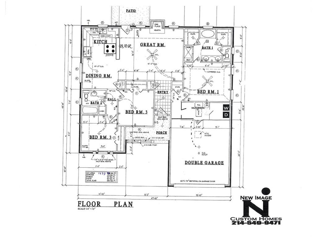 593 E Eubank Street, Mabank, TX 75147