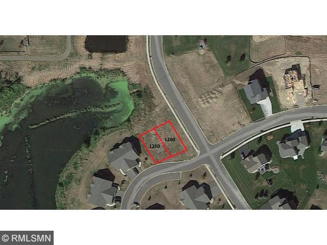 Twin home lot, open to any builder. The neighborhood is almost complete. Great location, walking distance to Buffalo Lake. 6 lots with 3 twin home sites available. 2 lookout lots, 1 walkout.
