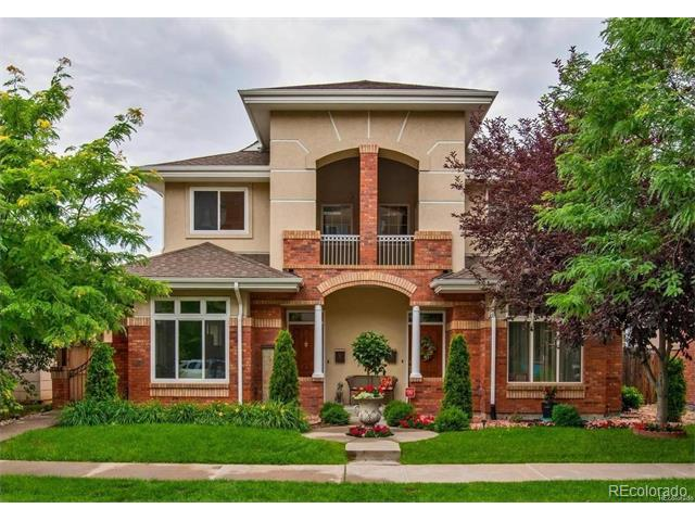 Stunning Light & Bright Remodeled Open Concept Cherry Creek Town Home!  Sunny Southern End Unit Has 10 ft Ceiling on Main and 9 ft Ceiling Up- Amazing Value- Average Price for This Size Town Home in Cherry Creek is Over $875k!  New Features (2016) Include:  Custom Cabinets W/ Soft Close Drawers, Bosche Stainless Steel Appliances, High End Granite Kitchen Counters, All New Bathrooms (Granite, Custom Tile, Tubs & Fixtures), Light Fixtures, Carpet, Paint & More!  Enjoy All That Cherry Creek Has to Offer at a Price That You Can Afford!  Also Includes A/C, 2 Fireplaces, Massive Kitchen, Private Master Suite & Big Basement w/ Tall Ceilings Providing Excellent Future Finish Space (bedroom or two, bathroom, family room). Just a Small Patio But with an Inside Like This, Who Wants to Go Outside?