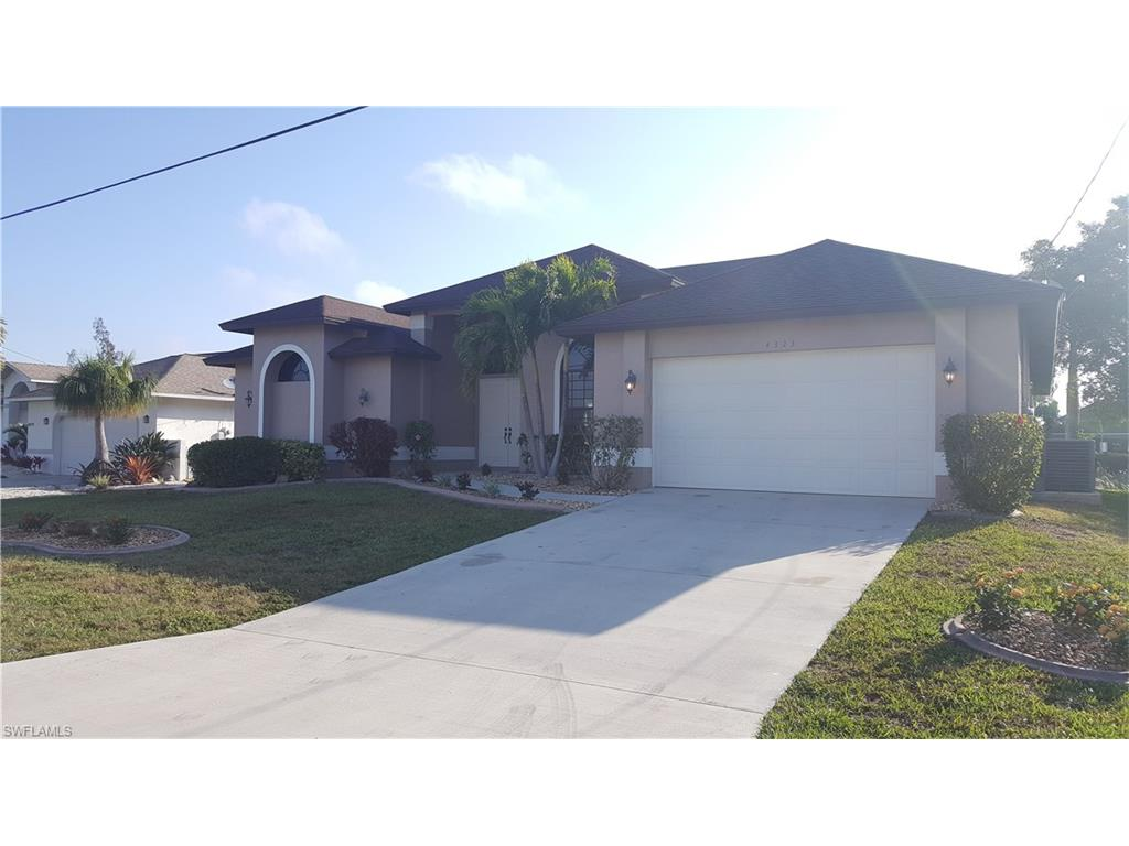 4323 SW 18th PL, CAPE CORAL, FL 33914