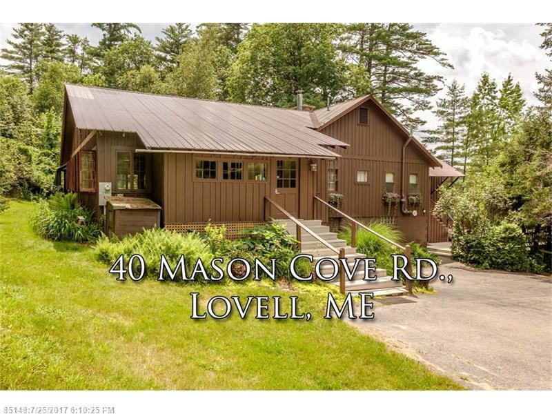 40 Masons Cove RD , Lovell, ME 04051