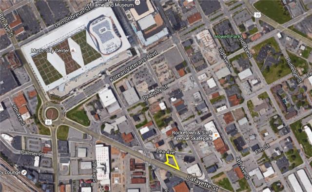 Downtown Nashville land for development