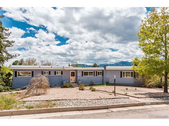 1221 Mount View Lane, Colorado Springs, CO 80907