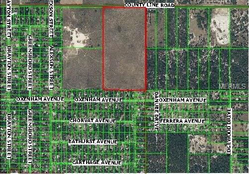 COUNTY LINE ROAD, SPRING HILL, FL 34610