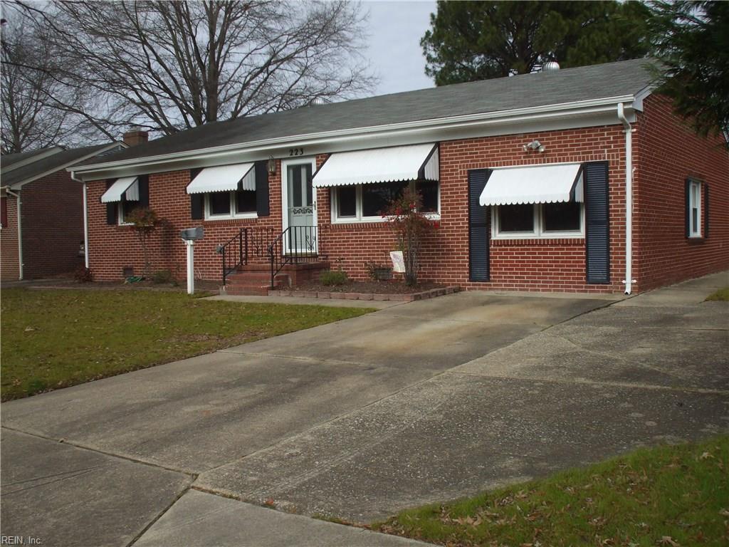 223 VALIREY DR, Hampton, VA 23669