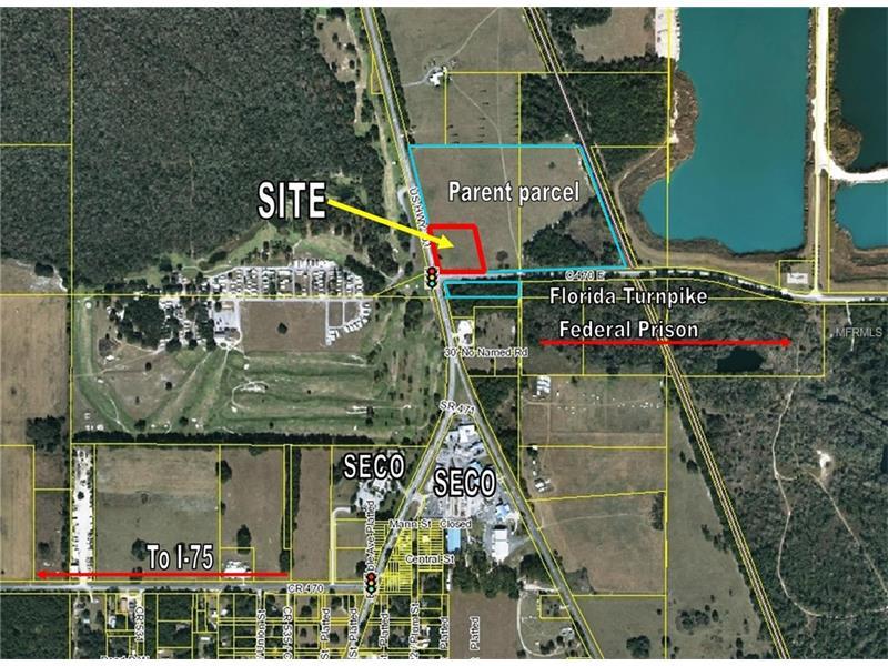 US 301 & CR 470, SUMTERVILLE, FL 33585