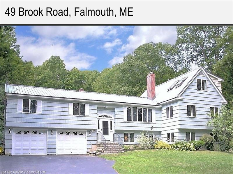 49 Brook RD , Falmouth, ME 04105