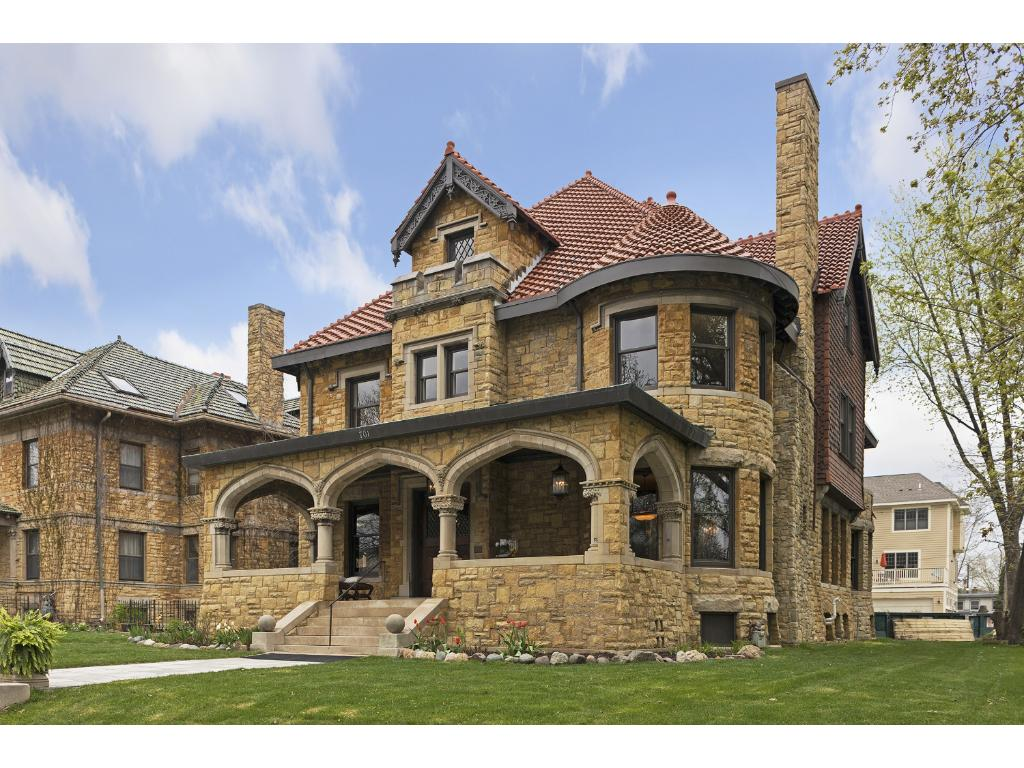 Homes and mansions st paul summit avenue for sale twin for Minnesota mansions for sale