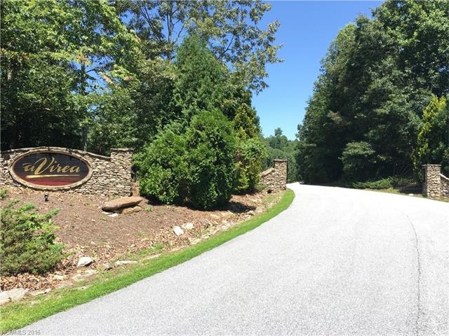 A'Virea is an upscale gated community.  Beautiful pastoral and mountain views.  Convenient location with minutes to shopping, schools and downtown Hendersonville.  Bring your own contractor.  Underground utilities.