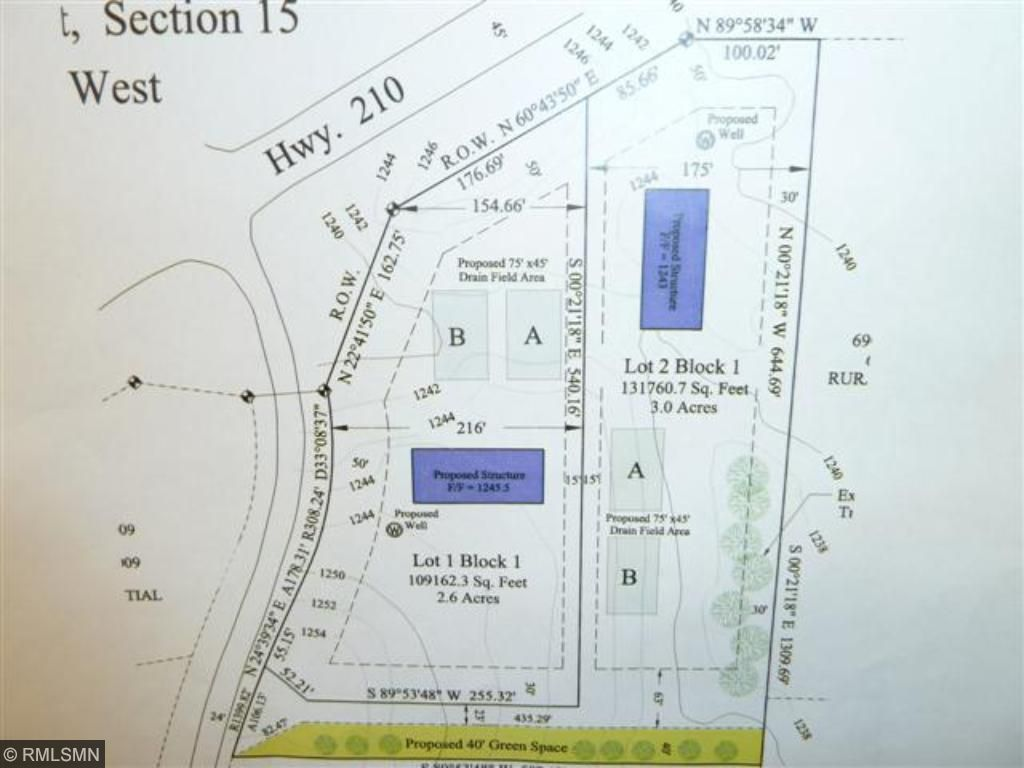 Lot 1 Woodland Road, Irondale Twp, MN 56455