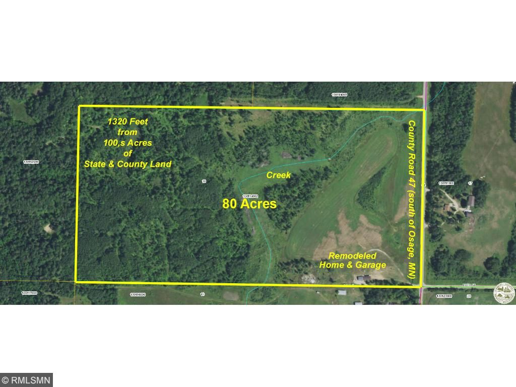 19000 County Highway 47, Osage, MN 56570