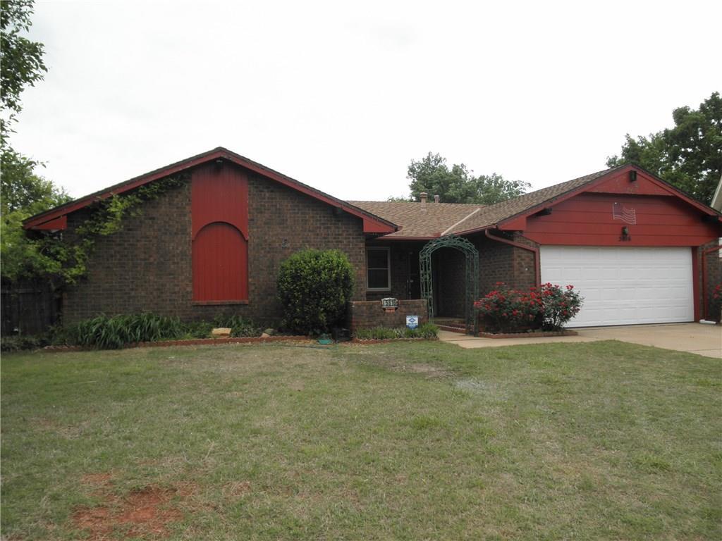 5816 N Caddo Court, Warr Acres, OK 73132