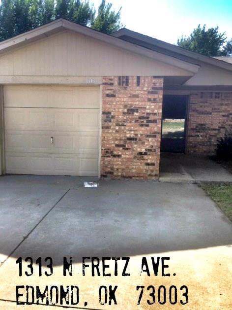 1313 N Fretz Avenue, Edmond, OK 73003