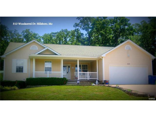 310 Woodsorrel Drive, Hillsboro, MO 63050