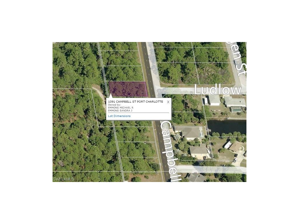 1091 Campbell ST, PORT CHARLOTTE, FL 33953