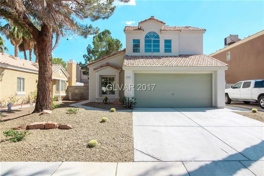 1653 AUTUMN RUST Drive, Las Vegas, NV 89119