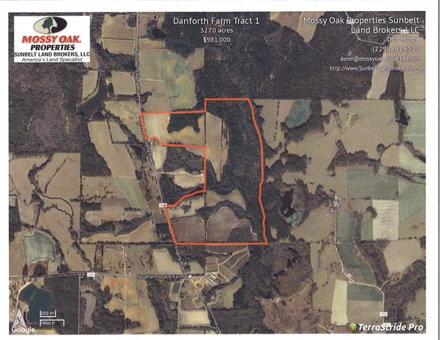 Great 327 +/- acre property with a mix of farmland and timberland.  Good road frontage on the Nashville-Enigma Rd. just north of Berrien Peanut Company.  With a little work this tract has potential to accommodate pivots.  You can climb out of the tractor and into the deer stand to hunt abundant wildlife on this tract. Don't miss out on this opportunity to own a great farm tract in an excellent area of Berrien County.  A house and approximately three acres is available in addition to this property.