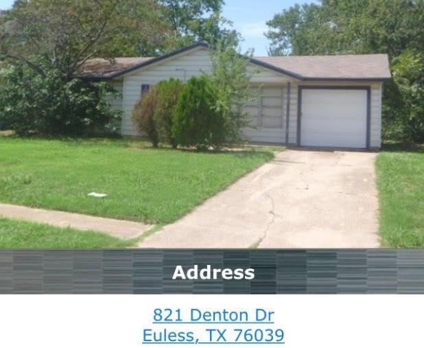 821 Denton Drive, Euless, TX 76039
