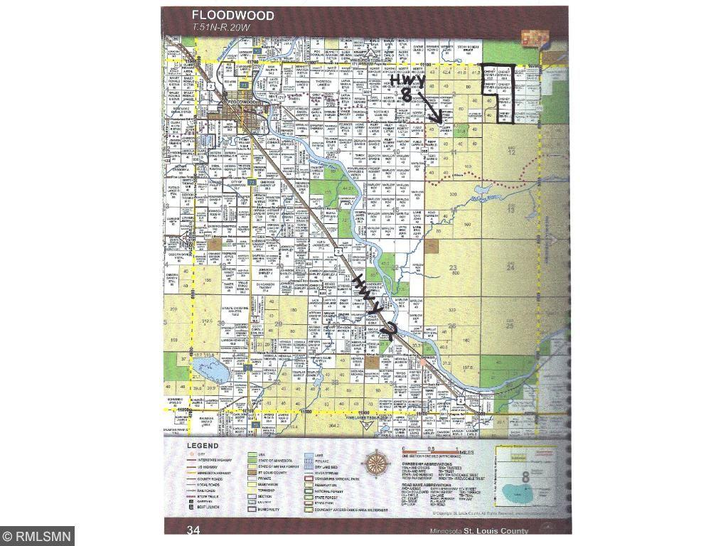 XXXX HWY 8, Floodwood Twp, MN 55736