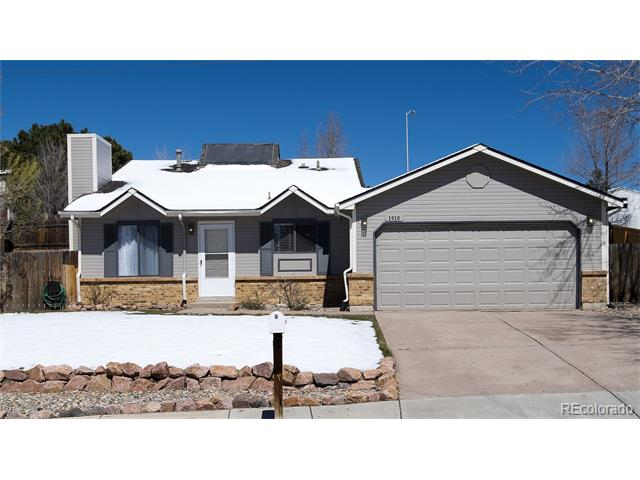 1910 N Whitehorn Drive, Colorado Springs, CO 80920