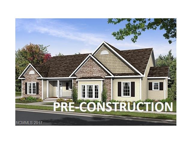 PRE-CONSTRUCTION OFF FRAME MODULAR: 1861 SF 3BD/2BA, energy efficient home on .35 +/- acres in upscale gated community. Covered 6'X13' front porch, 8'X10' rear porch. Large 2 car garage, paved driveway, 9' ceilings w/finished sheetrock thru-out. Kitchen features island, pantry, glass tile backsplash, pantry, stainless steel appliances.  Atrium door off great room. Master bath features shower w/rainfall showerhead.  Attic w/pull-down stairs. 7 YR Home Warranty included. See features list attached