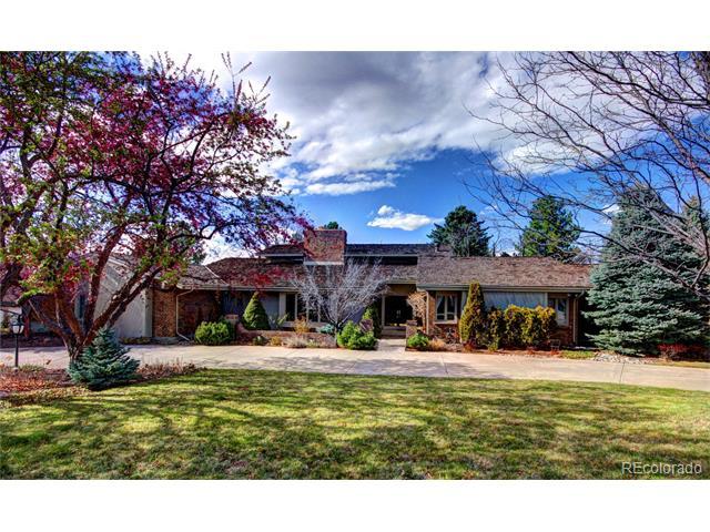 1099 Green Oaks Drive, Greenwood Village, CO 80121