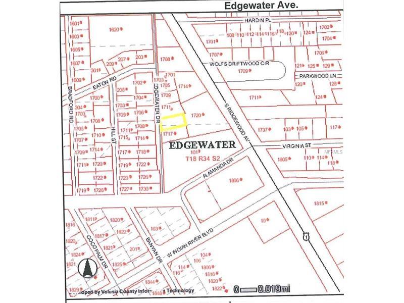 1717 EDGEWATER DRIVE, EDGEWATER, FL 32132