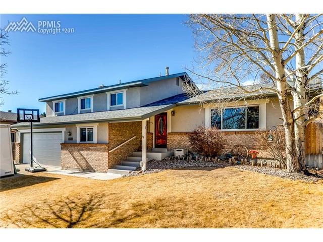 5445 S Buckskin Pass Drive, Colorado Springs, CO 80917