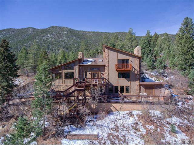 8755 Ute Road, Cascade, CO 80809