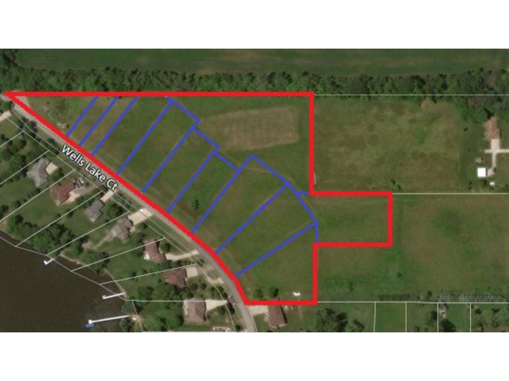 Great investment/development opportunity in an established lake-shore community! Curb-stopped & fully installed utilities to each lot include: electric, natural gas, community well & septic. Large platted lots w/WO & private backyards w/lake access to Wells & Cannon Lake. Southern exposure w/amazing lake views make this community a real find. Offering country living w/city conveniences, located 2 miles from Faribault & 35 min. to the Cities. Tax amount & acreage reflects all 12 PID's together.
