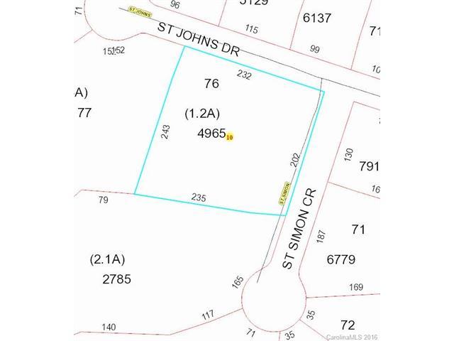 Lot 76 St Thomas Drive, Stanfield, NC 28163