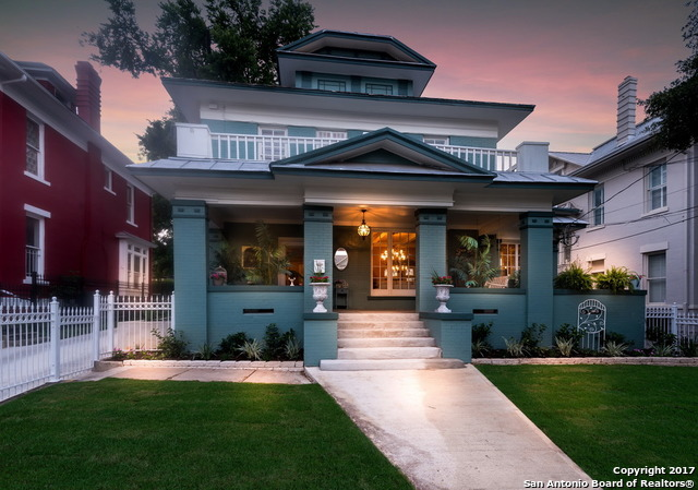 This Charming Historic Home in the Monte Vista Historic District was built C 1910 and has been completely restored and updated to provide both timeless elegance and up-to-date convenience for your personal home or Professional Office. Filled with tons of Natural Light streaming through the tall, original windows, some of which appear to have the original float glass that was popular at the turn of the 20th Century. The original wood floors have been restored. Private garden just outside the Dining room!