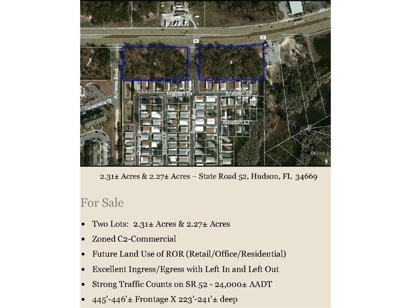 SR52, NEW PORT RICHEY, FL 34654