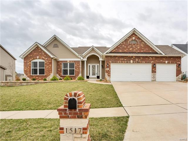 1517 Hunters Meadow Drive, O Fallon, MO 63366