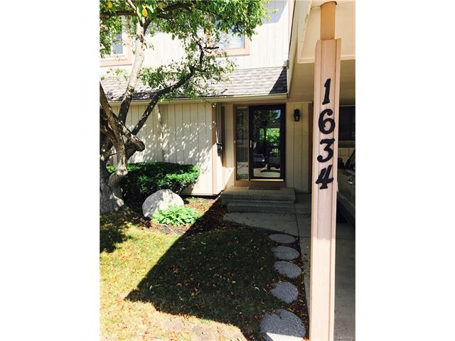 1634 STONEY BROOK Drive, Rochester Hills, MI 48309
