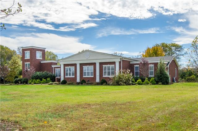 "Brick home on gorgeous 5 acre property-loaded w/upgrades, huge kitchen with granite & pantry-amazing master suite! Very private, cool observation tower w/spiral staircase! In law suite 60"" zero turn mower included. PLEASE SEE NEW VIDEO TOUR, in media!"