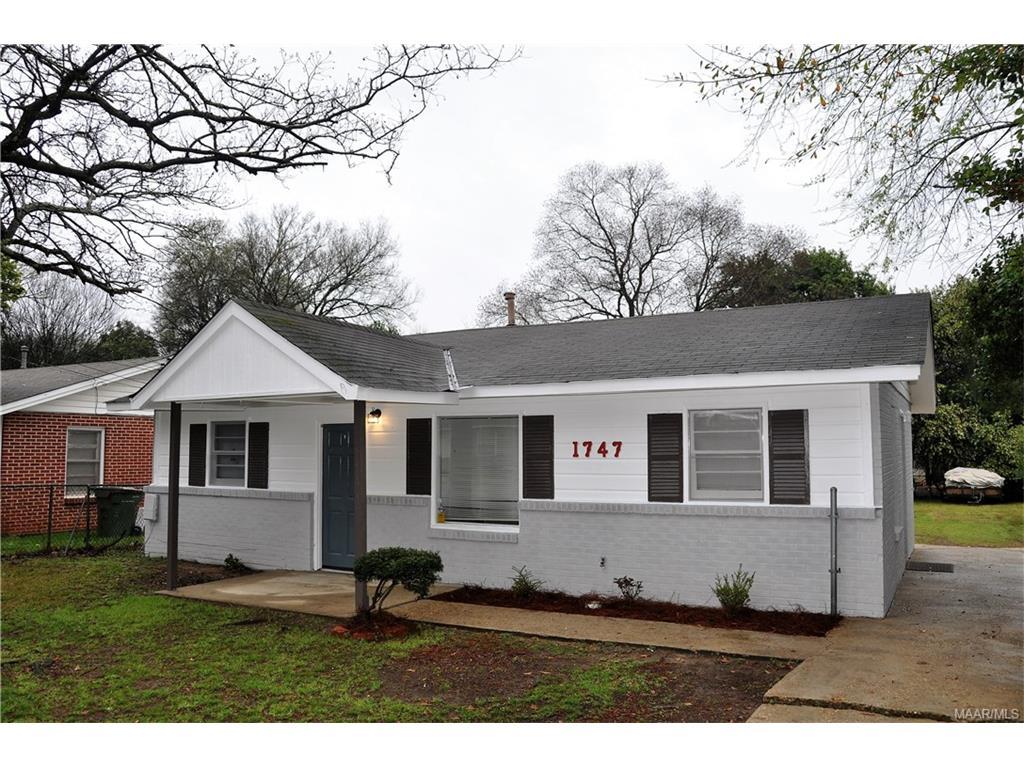 1747 Champion Street, Montgomery, AL 36110