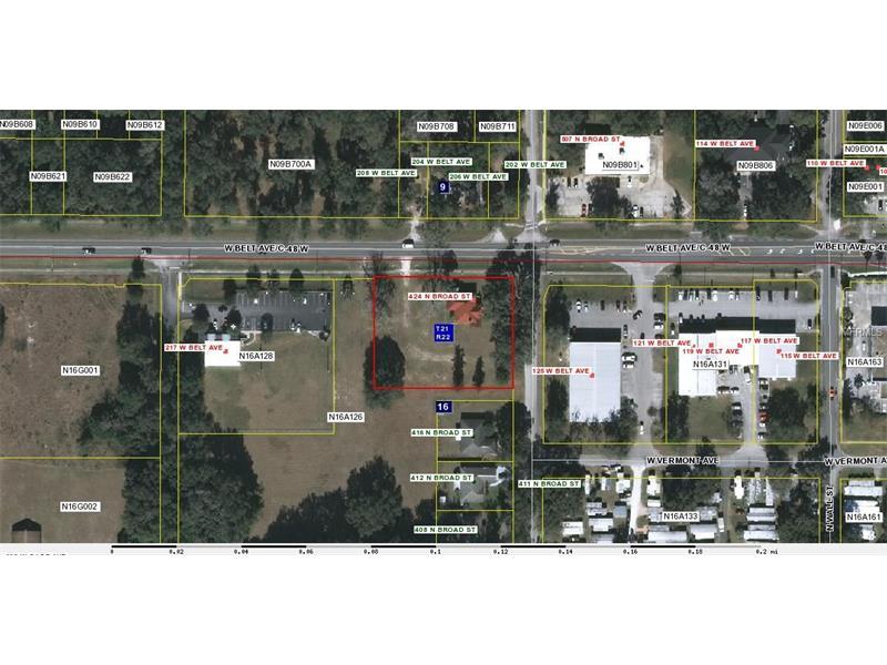 424 N BROAD ST, BUSHNELL, FL 33513