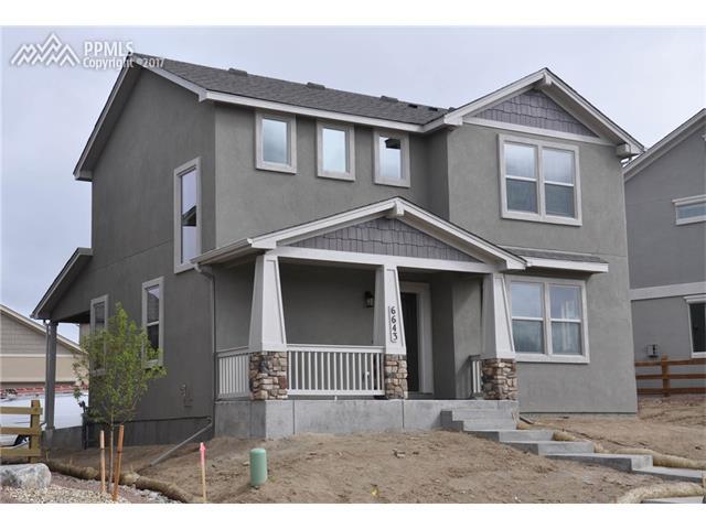 6643 Lucky Star Lane, Colorado Springs, CO 80923