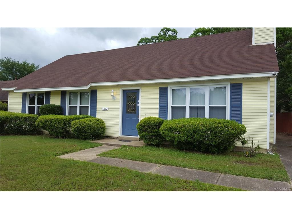 5812 Ainsworth Drive, Montgomery, AL 36117
