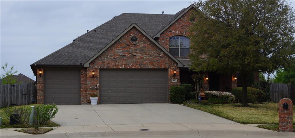 917 Hidden Springs Court, McKinney, TX 75071