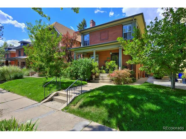 This listing is in 827 North Marion Street Cheesman Park Denver CO