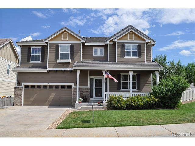 3496 Springmeadow Circle, Castle Rock, CO 80109